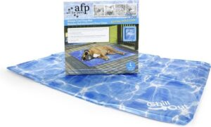 AFP Chill Out - Always Cool Dog Mat - 50x40 cm - M - Blauw