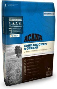 Acana heritage cobb chicken & greens hondenvoer 6 kg