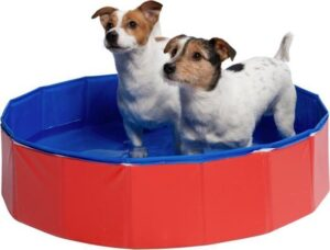 Basic Supply Premium Hondenzwembad - Honden Badje - Verkoeling Hond - 80x80x30cm