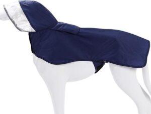 Doegly Waterproof regenjas voor honden - BLAUW - EXTRA SMALL (XS)
