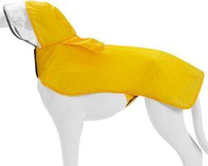 Doegly Waterproof regenjas voor honden - GEEL - SMALL (S)