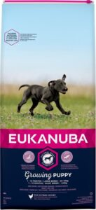 Eukanuba Dog Puppy Large Breed - Kip - Puppyvoer - 15 kg
