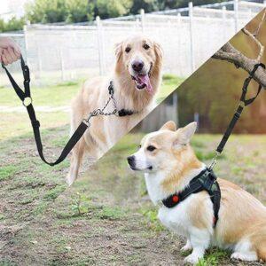 Hondengordel voor in de Auto - Verstelbaar - Hoofdsteun Gordel - Gordel Hond Auto - Zwart