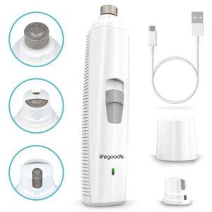 LifeGoods Elektrische Nagel Vijl voor Huisdieren - Oplaadbaar