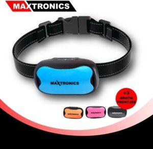 MAXTRONICS™ Anti-blafband 7 niveaus - Incl. 4 Opzetstukjes en 2 batterijen - Trainingsband – Opvoedingshalsband