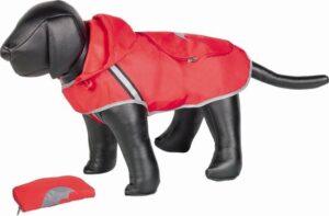 Nobby Regenjas Voor De Hond - Dierenkleding - Rood - 26 cm