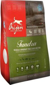 Orijen Tundra Dog Freeze Dried - Hondenvoer - ca. 12 Medaillons