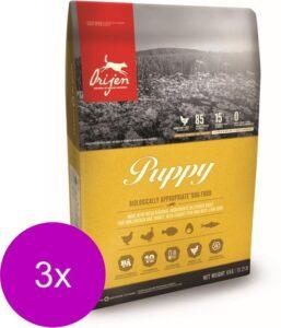 Orijen Whole Prey Puppy Kip&Kalkoen - Hondenvoer - 3 x 2 kg
