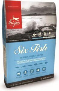 Orijen Whole Prey Six Fish Dog Sardines&Makreel - Hondenvoer - 11.4 kg