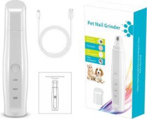 Pet Nail Grinder® - Elektrische Nagel Vijl Voor Huisdieren - Knipper - Schaar - Nagelvijl - Trimmer - Draadloos - Diamante Vijlkop - Honden