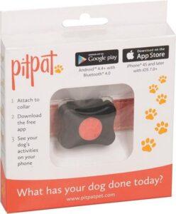 PitPat 1 Activity Monitor - Hond - Lichtgewicht - Met klittenband