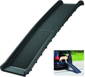 Trixie Loopplank Auto Plastiek (Tot 90Kg) - 40 cm x 156 cm - Zwart