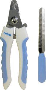 TwinQ Professionele Nagelknipper Hond-Kat - Dierennagelknipper - Blauw-Wit