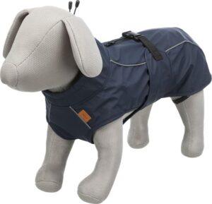 't Steegske Hondenjas - Regenjas voor honden - donkerblauw - Nekomvang tot 46 cm Buikomvang 40-54 cm Ruglengte 40 cm
