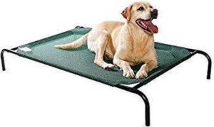 4animalz Honden Ligbed - Ventilerend - Groen - Large - 110x80cm