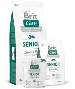 Brit Care Senior Lamb & Rice 3 kg hypo allergeen