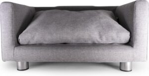 Canapé stof oscar grijs 60x36x30cm S