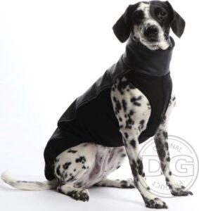 DG Softshell® Top Waterproof Hondenjas Grijs - Maat 22 (15-30kg) DGL2