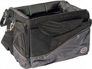 Duvo+ Fietstas voor honden Zwart-grijs 41x26x26cm