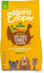 Edgard & Cooper Verse Biokalkoen & Biokip (vrije uitloop) Brok - Voor volwassen honden - Hondenvoer - 2.5kg