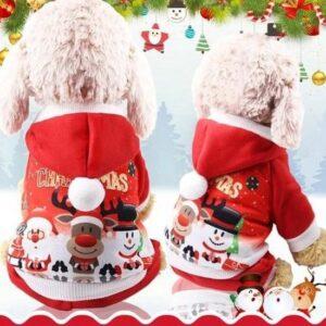 Hond kerstjasje maat S