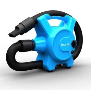 Hondenfohn - Waterblazer met Draaiknop - 2400W Vermogen met Warme en Koude Stand - Blauw