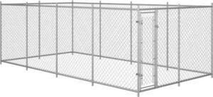 Hondenkennel voor buiten 8x4x2 m