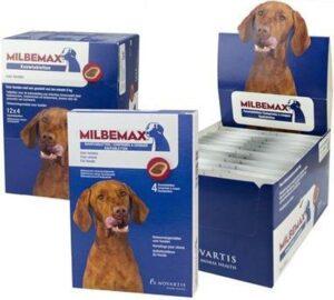 Milbemax Kauwtablet grote hond 1 tablet