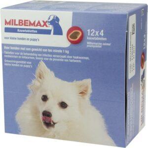 Milbemax Kauwtablet kleine hond 1 tablet
