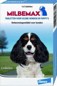 Milbemax Ontwormingsmiddel - Kleine Hond - 1 x 2 Tabletten