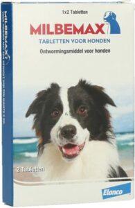 Milbemax Tabletten - Ontwormings Tabletten voor honden - 2 tabl. - 5-75kg Ontworming Honden