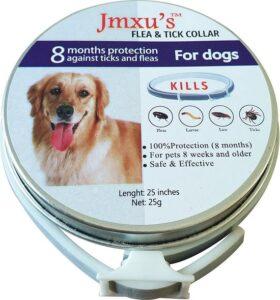 Natuurlijke vlooienband, waterproof 8 maanden hond groot -12Kg