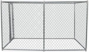 POILS & PLUMES Brutus S Steel Kennel 1,50x3x1,82 m - For Dog