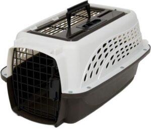 Petmate - Hondenkennel - Comfort en veiligheid voor zowel thuis als onderweg - 4.5 tot 9kg - 49,2 x 32,5 x 25,4 cm