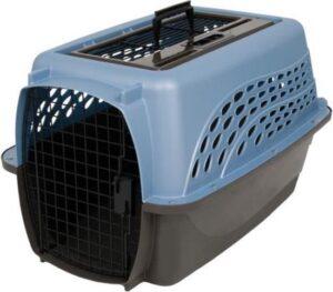 Petmate - Hondenkennel - Comfort en veiligheid voor zowel thuis als onderweg - 4.5 tot 9kg - 61,2 x 42,4 x 36,8 cm