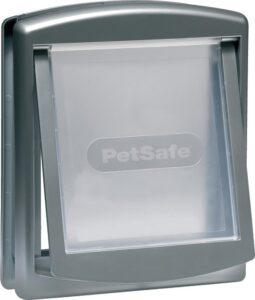 Petsafe 757 Hondenluik - Medium - Zilver-Tranparant