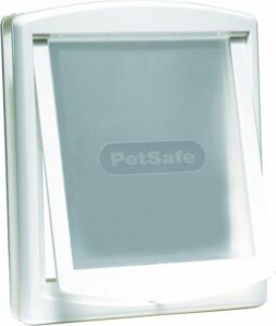 Petsafe 760 Hondenluik - Large - Wit-Transparant
