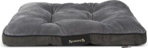 Scruffs Chester Mattress - Hondenkussen - Graphite - M - 82 x 58 cm