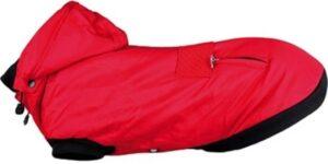 Trixie Winterjas Palermo Rood - Hondenkleding -33cm