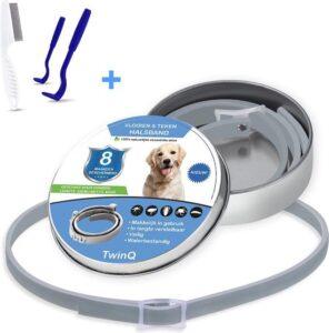 TwinQ Vlooien en Tekenband voor honden
