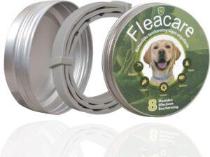 Vlooien en tekenband, Anti Vlooien voor honden - Vlooienband hond- Tekenband hond - Bescherming hond - Diervriendelijk - One size - Fleacare