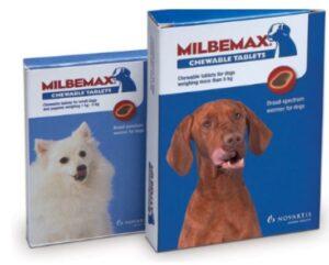 milbemax ontwormingsmiddel voor honden