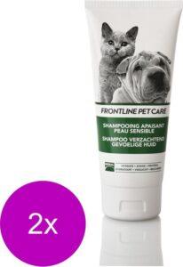 Frontline Petcare Shampoo Verzacht Gevoelig Huid - Hondenvachtverzorging - 2 x 200 ml