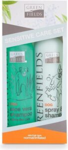 Greenfields Hondenshampoo - Gevoelige Huid Verzorgingsset - 2x250ml
