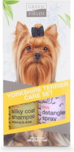 Greenfields Hondenshampoo - Yorkshire Terrier Verzorgingsset - 2x250ml