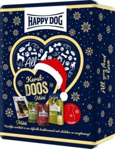 Happy Dog - Kerstcadeau voor kleine honden - Kerstpakket Mini