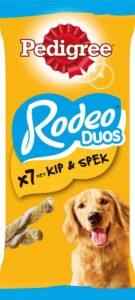 Pedigree Rodeo Duo - Kip & Bacon - Hondensnacks - 10x7stuks