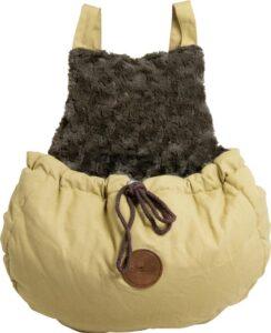 Jack and Vanilla Hondendraagtas JV HUSK Kangaroo Bag - 42x42cm
