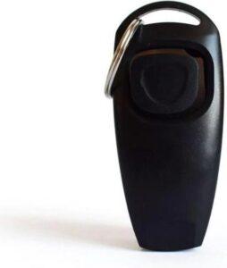 Luxe clicker met fluit - 2 in 1 Hondentrainer - Hondenklikker