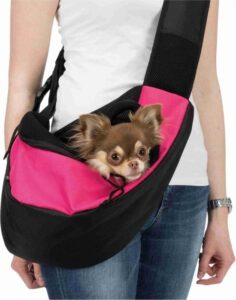 Trixie Buikdrager Sling Draagtas - Roze